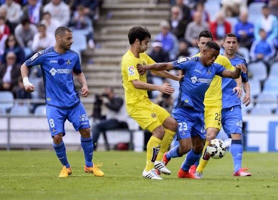 Dónde ver el partido de fútbol Getafe Villarreal 24 septiembre