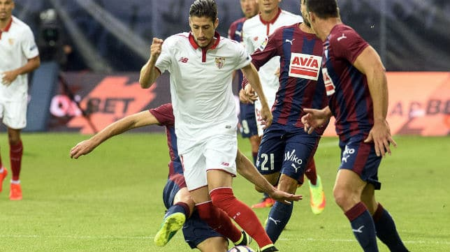 Dónde ver el partido de fútbol Sevilla vs Eibar en directo