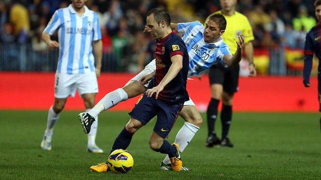 Dónde ver el partido de fútbol Barcelona Málaga 21 octubre