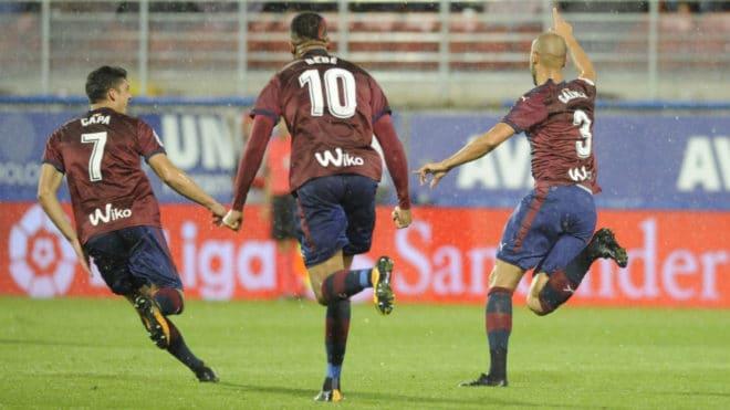 Dónde ver el partido de fútbol Eibar Levante 29 octubre