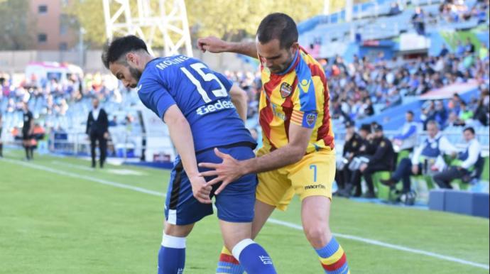 Dónde ver el partido de fútbol Levante Getafe 21 octubre
