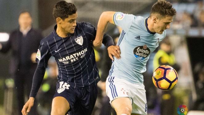 Dónde ver el partido de fútbol Málaga Celta 29 octubre