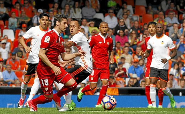 Dónde ver el partido de fútbol Valencia Sevilla 21 octubre