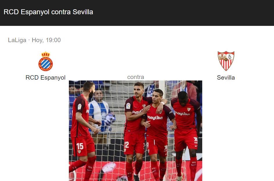 espanyol sevilla online